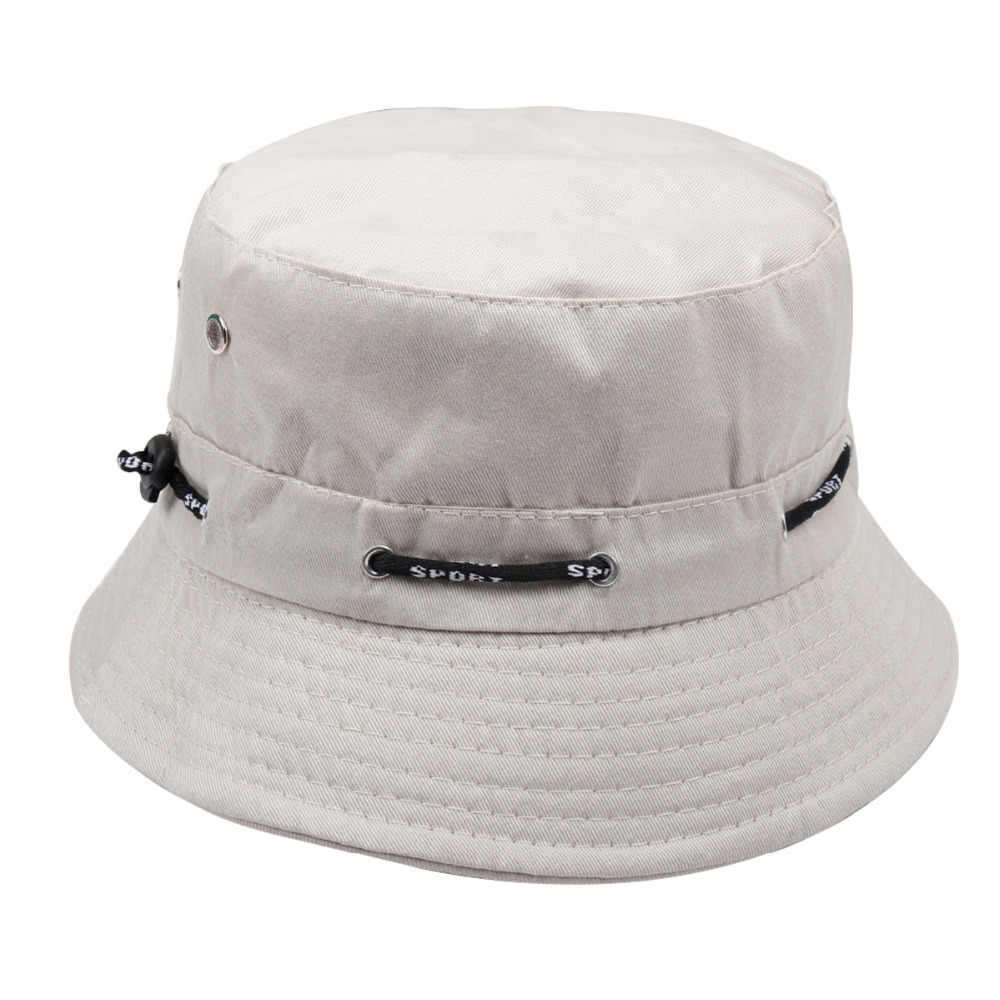 32acdb73d1e Summer Plain Bucket Hats Men Women Classic Caps Autumn Spring Fisherman  Panama Cotton Double Layer Fabric