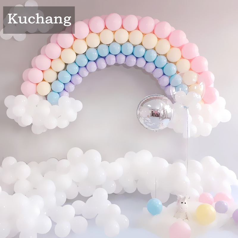 10inch Candy Color Macaroon Latex Balloons Inflatable Air Balls Babyshower Wedding Birthday Party Decoration Kids Toy Globos Pet Products