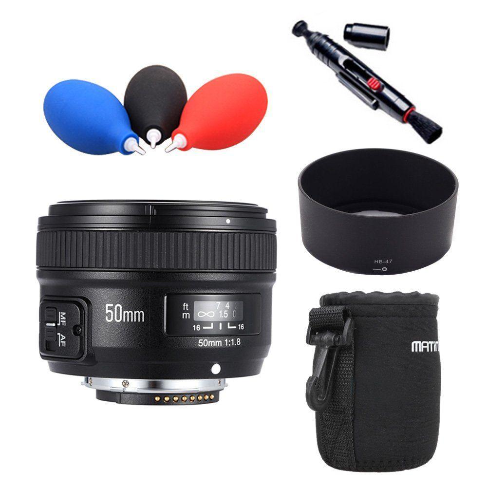 Camera Lens YONGNUO YN50mm F1.8 MF YN 50mm f/1.8 AF Lens YN50 Aperture Auto Focus for NIKON D7500 D7200 D5600 D5200 D750 D500 D5 yongnuo yn 50mm yn50mm lens fixed focus lens ef 50mm f 1 8 af lense large aperture auto focus lens for nikon dslr camera