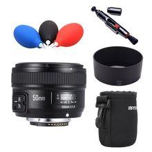 MF YN50mm F1.8 Lente da câmera YONGNUO YN 50mm f/1.8 Lente AF YN50 D5200 abertura Foco Automático para NIKON D7200 D7500 D5600 D750 D500 D5