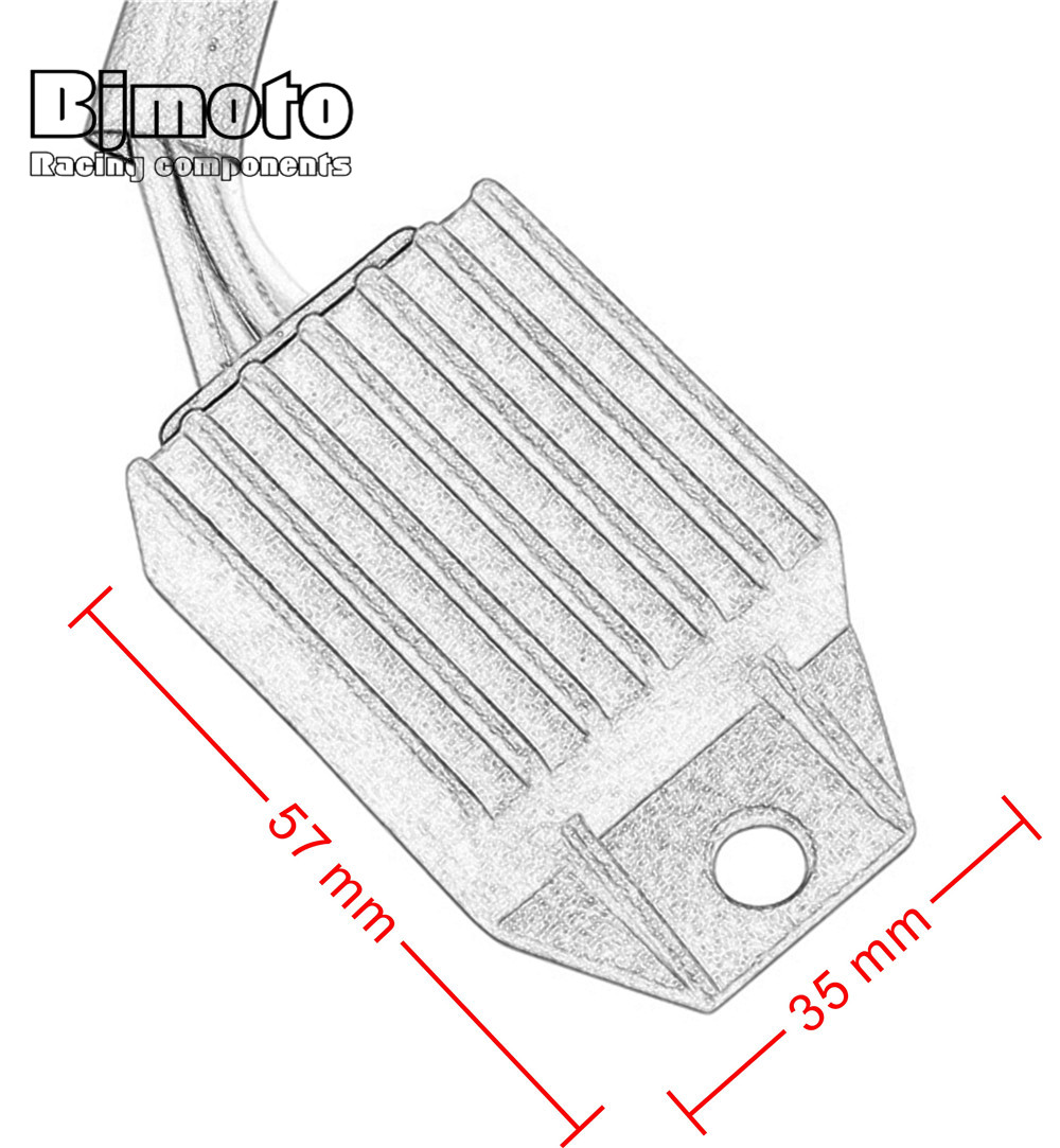Bjmoto Motorcycle Regulator Voltage Rectifier For Ktm 660 Smc 450 2014 Xcf Wiring Diagram Exc R 250 W F 530 Xc 525 300 400 G Racing In Motorbike Ingition From