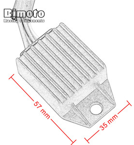 Image 5 - BJMOTO regulator do motocykla napięcia prostownika dla KTM 660 SMC 450 EXC R 250 XCF W EXC F 530 XC W 525 EXC 300 XC 400 EXC G wyścigi