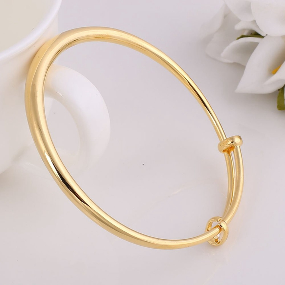 thin one listing fullxfull bangle bracelet plain il gold bangles zoom solid