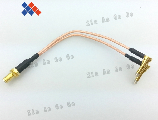 RP-SMA female to Y type 2X IP-9 MS156 male Splitter Combiner cable pigtail RG316 One SMA point 2 MS156 connector for LTE Yota rp sma female to y type 2x ip 9 ms156 male splitter combiner cable pigtail rg316 one sma point 2 ms156 connector for lte yota