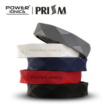 Power Ionics Prism 2000 Ions Titanium Germanium Wristband Bracelet Balance Energy Balance Human Body 1