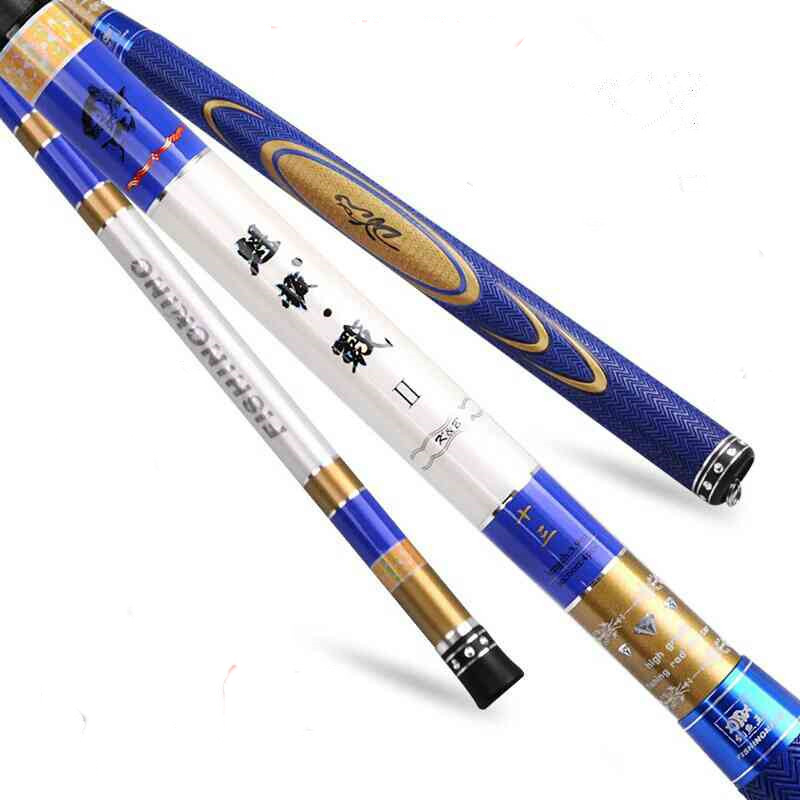 ANZHENJI Brand 3.6m-6.3m High-carbon Taiwan fishing rod ultra-light super-hard carp pole werkel розетка с заземлением белая werkel wl01 skg 01 ip20 4690389045615