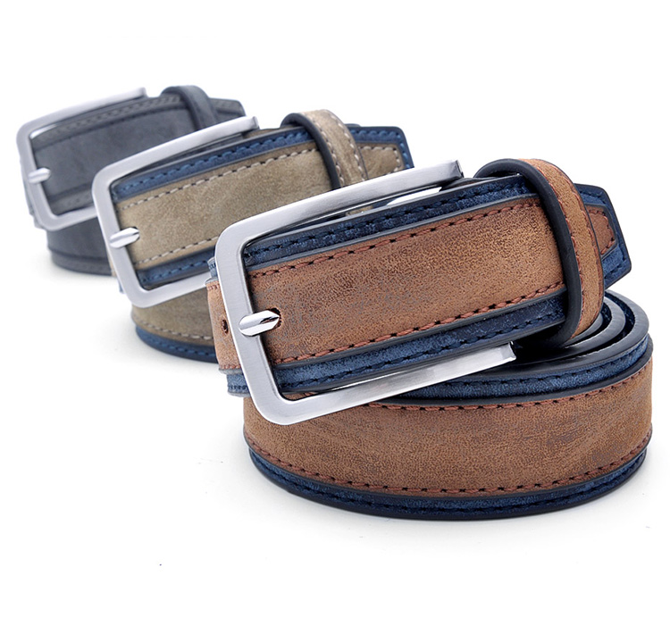 Fashion Men Luxury Designers Brand Casual Patchwork Belts