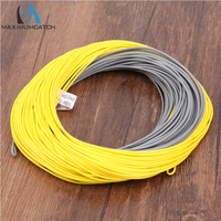 Lot Of 2 Pieces YELLOW GREY Color Double Color WINDCUTTER WF7F Floating Fly Fishing Line