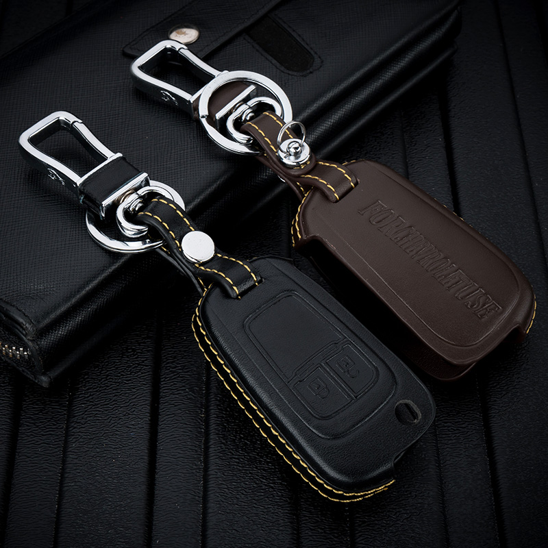 ABAIWAI Car Accessories Key Holder Cover For Chevorlet Trax Captiva Sail3 Auto PartStyling Holder Interiors Bag