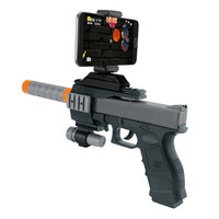 BLUELOONG AR Game Gun With Cell Phone Stand Holder AR Toy Game Gun With 3D AR
