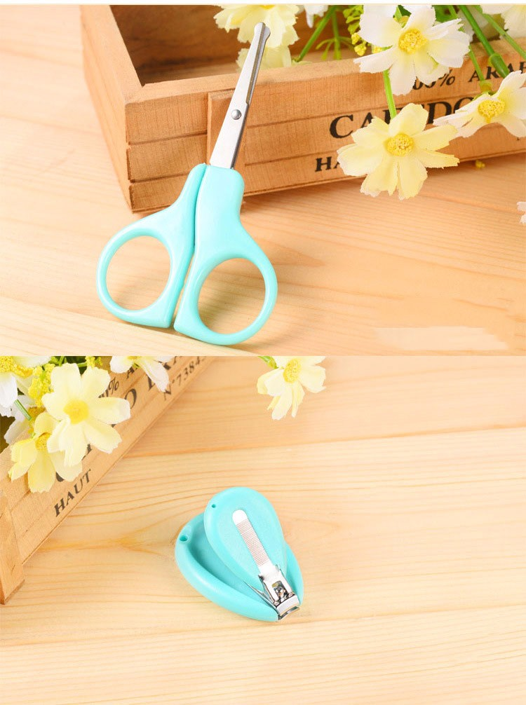16 Hot Sale Baby Nail Clipper Infant Finger Trimmer Scissors Daily Care Multi-functional And Convenient 3 Colors Optional Set 5
