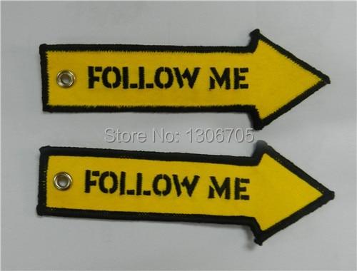 Стрелки Follow Me вышивка брелок