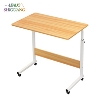 Modern Solid wood Computer Desk Environmental Desktop adjustable radian Office Modern Minimalist Healthy furniture office desk