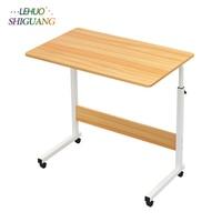 Modern Solid wood Computer Desk Environmental Desktop adjustable radian Office Modern Minimalist Healthy furniture office desk