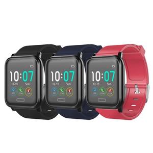 Image 5 - L8star b1 inteligente saúde pulseira de fitness 60 dias à espera relógio rastreador bateria poderosa freqüência cardíaca pressão arterial oxigênio sono