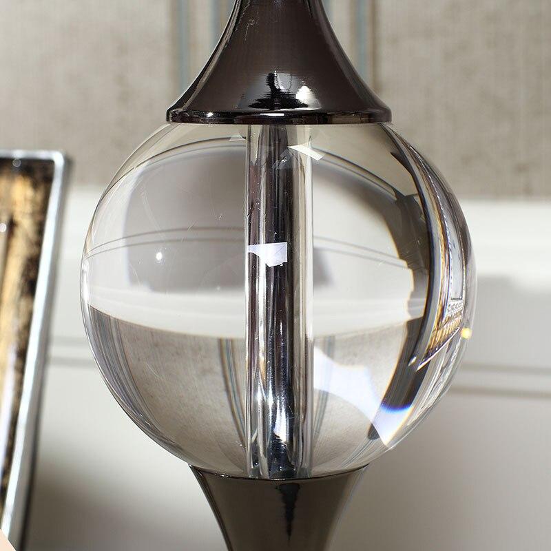 Туда 30X60 см Бесплатная доставка Европейский Стиль Роскошные настольная лампа K9 Кристалл Настольная лампа для Спальня Гостиная исследовани...
