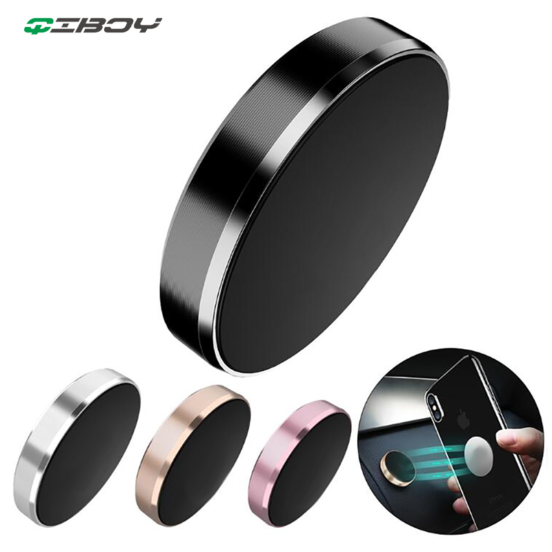 Magnetic Car Phone Holder Dashboard Cell Mobile Smartphone Stand Magnet Support Telephone Mount Holder In Car Desk Wall Sticker