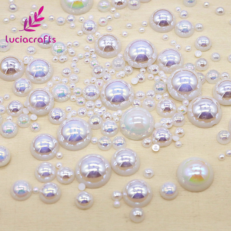 Detail Feedback Questions about Lucia Crafts 200pcs 2 10mm ABS Resin ... 51e877d69829