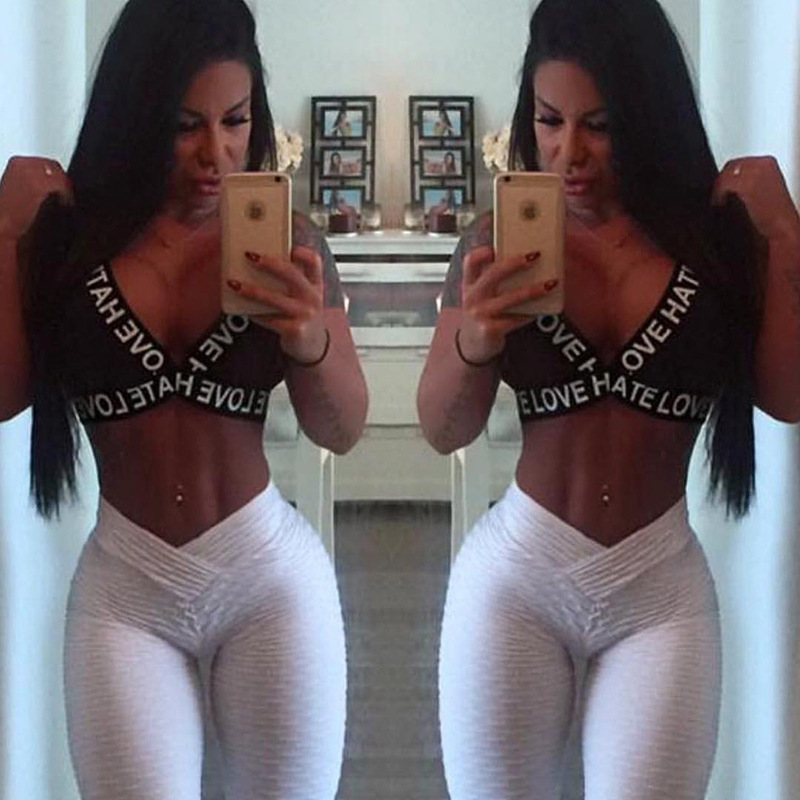 White Leggings Women Sexy V -Waist Butt Lifting Legging Anti Cellulite Push Up Femme Fitness Clothing Gym Wear Athleisure