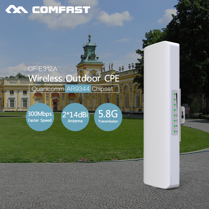 Long Distance CPE WIFI Router 5G Wireless Outdoor AP 300mbps WiFi Bridge point to point Extender Access Point wi-fi nano station кошелек furla furla fu003bwcksn2