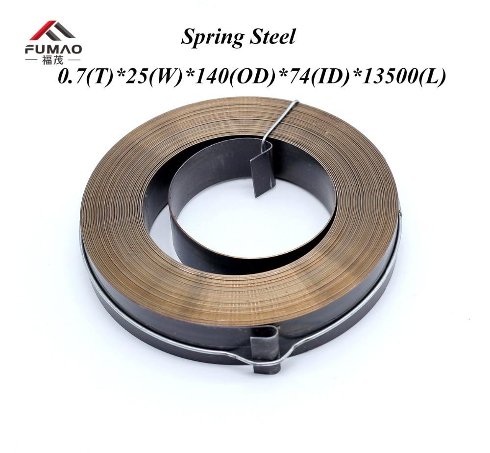Изготовленные на заказ пружины из стали, спиральные пружины постоянной силы 0,7 (t)* 25(w)* 140(OD)* 74(ID)* 13500 мм, диаметр выход|Пружины| | АлиЭкспресс