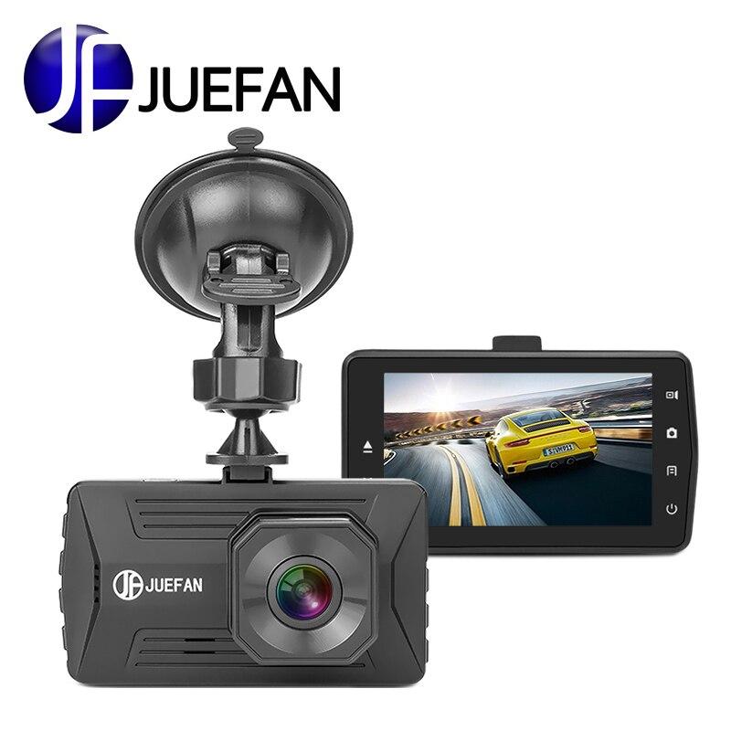 JUEFAN JF03 DVR Mini dash cam automática cíclico grabación dvr del coche de la Cámara IPS HD 1080 p novatek de la visión nocturna de la cámara dash camera
