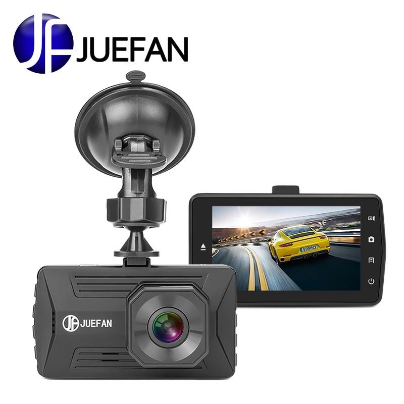 JUEFAN Original dvr Hot Mini Dash Cam Cyclic Recording Car Dvr Camera Recorder IPS Full HD 1080P Novatek Night Vision Dashcam
