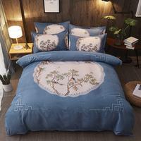 Luxury 3D Bedding Set Polyester Fiber Flamingo Twin Queen King Size 3D Bed Set Duvet Cover Fitted/Bed Sheet Set Parrure De Lit
