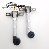 Tuning Monster High Quality Rear Adjustable Camber Arm Kit For Honda Civic EG EK 88 01 With Logo