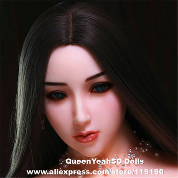 NEW Realistic Sex Doll Head For TPE Silicone Oral Sexy Doll Heads Adult Toy Can Fit For 140cm To 170cm Full Size Dolls