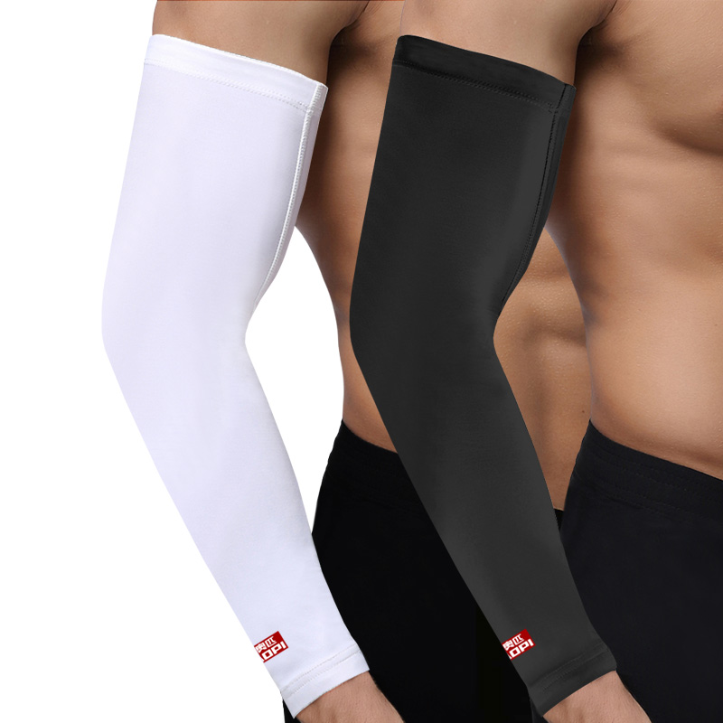 AOPI 1 pcs Bicycle Arm warmers Bike Hiking Cycling Arm Guard/Support Basketball Golf Arm Sleeves Sun UV Protection Elbow Pads