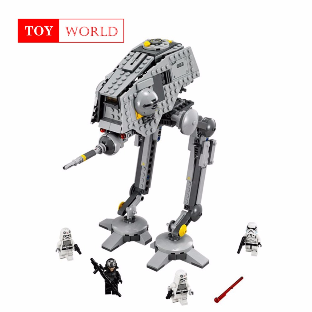Rogue One imperial AT-ST Walker AT-DP star wars compatible with legoed 75083 figures model Building Blocks diy toys gift kid 25 mylb new 499pcs new star wars at dp building blocks toys gift minis rebels animated tv series compatible drop shipping
