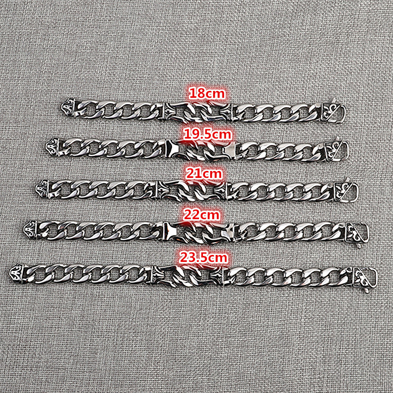 KLDY men Jewelry Biker Stainless Steel chain bracelets for man vintage steel mens bracelet corations best gift drop shipping in Chain Link Bracelets from Jewelry Accessories