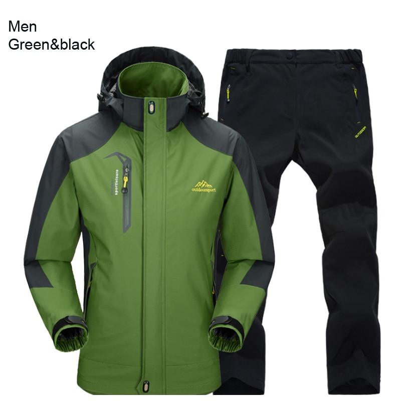 men green black