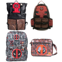 Marvel Deadpool Captain America Laptop Backpack Bags School Shoulder Travel Bag travel knapsack packsack rucksack