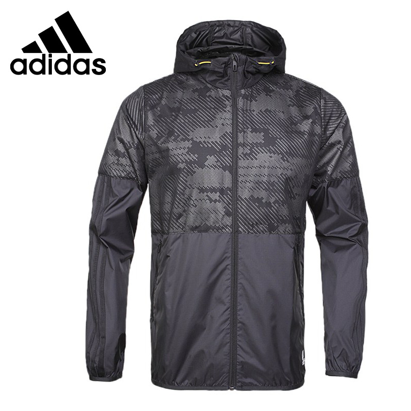 Original New Arrival 2017 Adidas UH WB WV AOP Men's jacket Sportswear adidas original new arrival official neo women s knitted pants breathable elatstic waist sportswear bs4904
