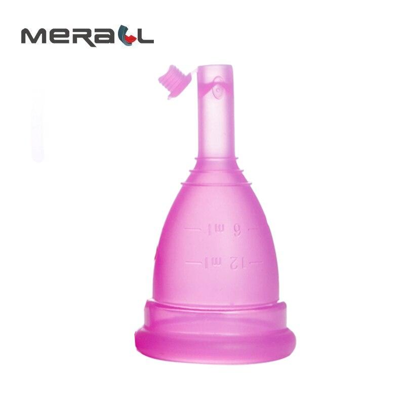 valve collector menstrual Reusable menstrual cup women medical silicon Feminine