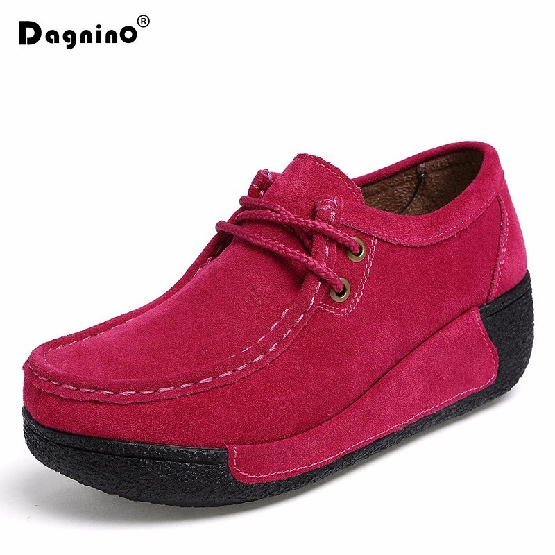 DAGNINO Women Flats Spring Autumn Shoes New Comfortable Solid Women Casual Shoes Wild Slip-on Loafers Leisure Warm Ladies Shoes chilenxas 2017 new spring autumn soft leather breathable comfortable shoes flats men casual fashion solid slip on handmade