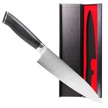 8 дюймов профессиональный шеф-повар Knife-7CR17Mov Нержавеющая сталь, Sharp-с эргономичной G10 ручка-стильная подарочная коробка