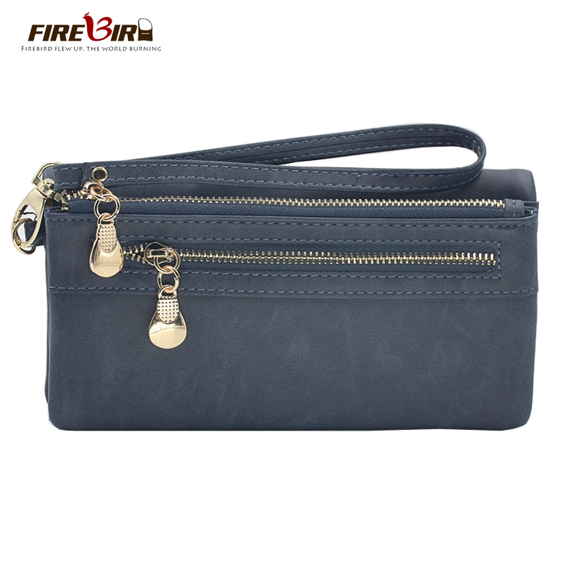 High Capacity Fashion Women Wallets Long Dull Polish PU Leather Wallet Female Double Zipper Clutch Coin Purse Ladies Wristlet women flat platform loafers shoes 2018 new brand women leather casual platform shoes for ladies new fashion flats shoes women