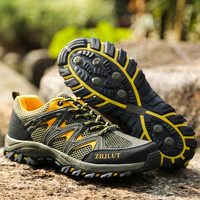 Mountain Sneakers for Men Women Summer Breathable Unisex Sport Shoes TPR Bottom Outdoor Walking Shoes Couples Mountain Shoes