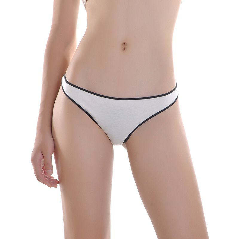 Cotton Panties String Thongs Plus Size Seamless Briefs Sexy Lingerie Simple Style Low Rise Women Underwear