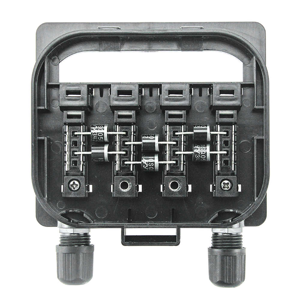1 Pcs Solar Junction Connecting Box for Solar Panel 250W-500W