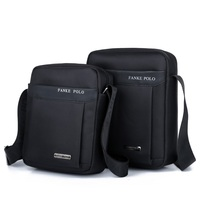 FANKEPOLO Male Bags Waterproof Nylon Oxford Cloth Travel Bag Fashion Business Men Shoulder Bags Casual Messenger