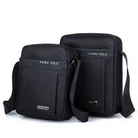 FANKEPOLO Male Bags Waterproof Nylon Oxford Cloth Travel Bag Fashion Business Men Shoulder Bags Casual Messenger
