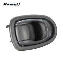 KOWELL Front Rear Left Side Gray Color Interior Inner Door Handles for Hyundai Elantra 1996-2001 1996 1997 1998 1999 2000 2001
