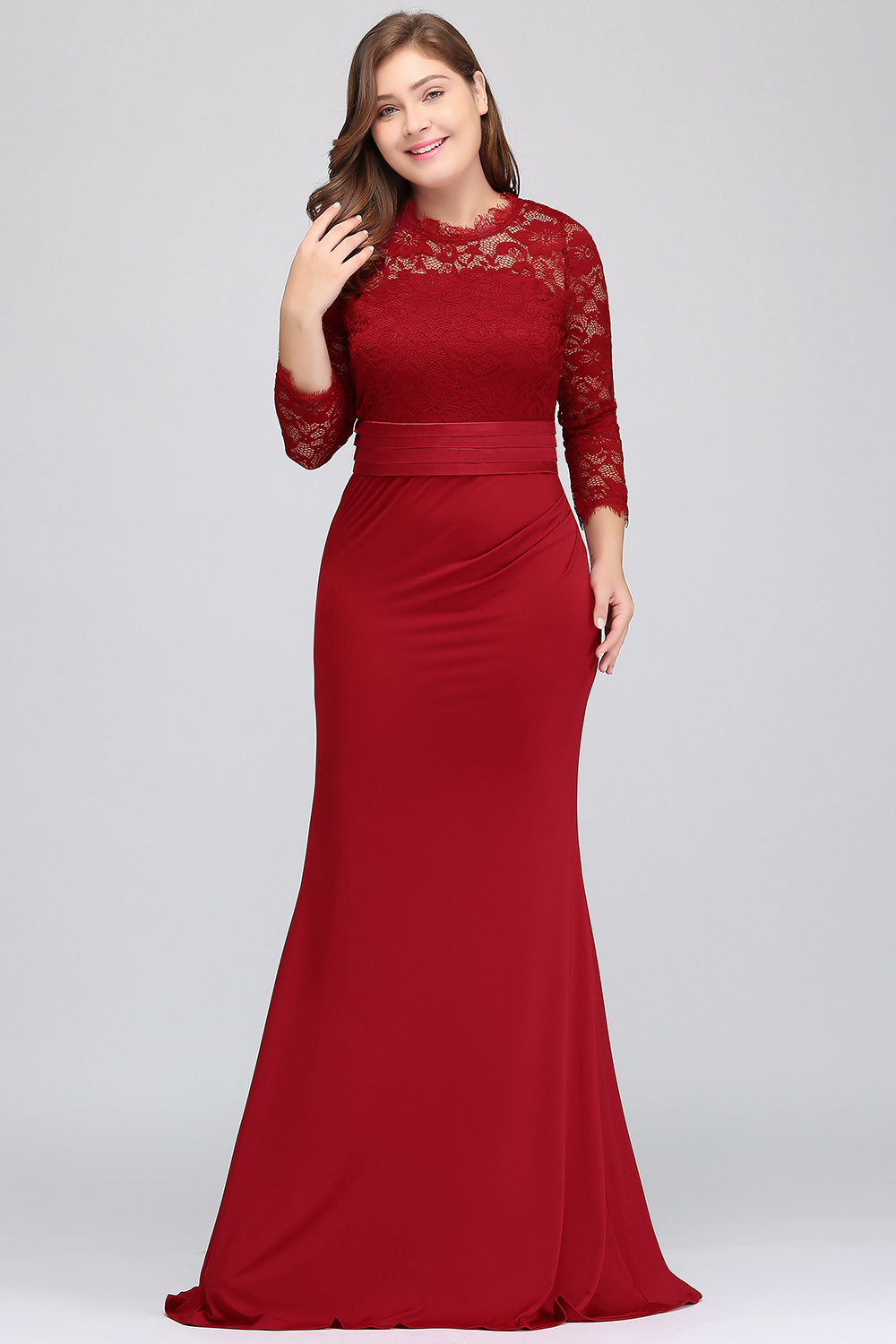 ae572042d7ccd US $27.46 42% OFF|robe de soiree longue Plus Size Evening Dresses 2019  Cheap Red Royal Blue Long Mermaid Evening Party Gown Dress Vestido De  Festa-in ...