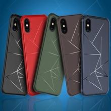 Geometric Shape phone Case For Samsung S9 Plus J2 J4 J6 J7 Prime J5 Pro A6 2018 Anti-fall Cover
