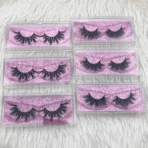 Image 5 - Mikiwi Thick Long 5D mink eyelashes long lasting mink lashes natural dramatic volume eyelashes extension 3d false eyelash