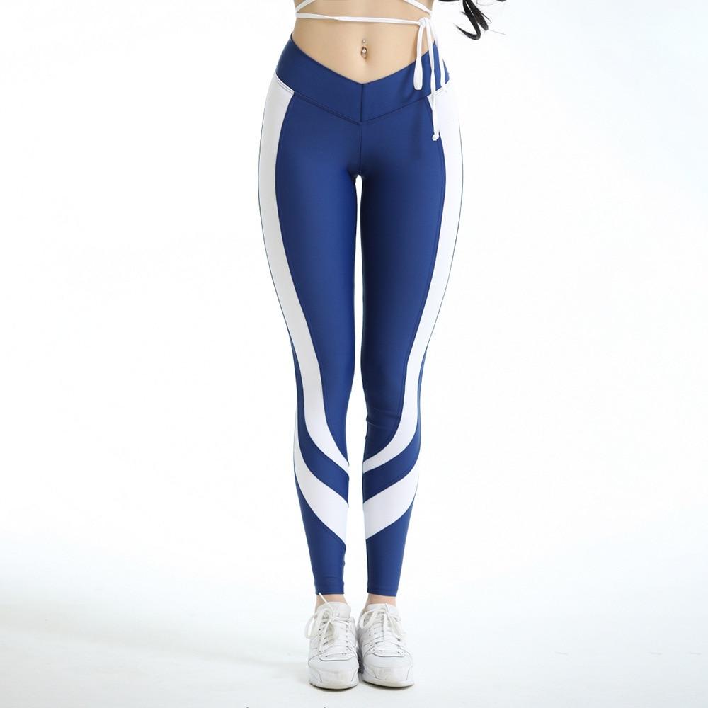 Gym Elastic Running Pants Women Fitness Tights Running Leggings Yoga Sweatpants Trousers Jogging Pants free shipping